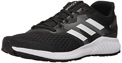 f6c58fdf109285 adidas Men s Aerobounce m Running Shoe Black White