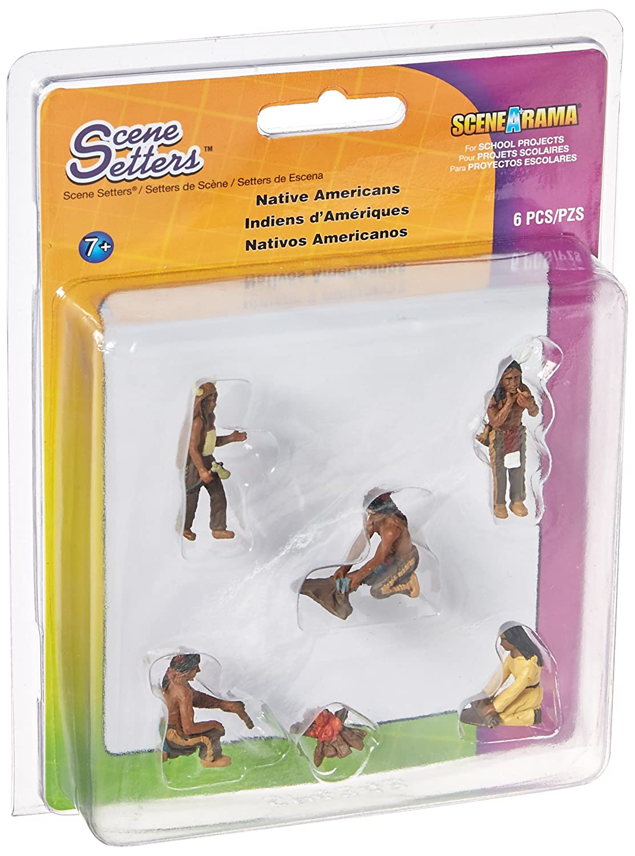 Amazon Com Woodland Scenics Sp4343 Diorama Native American Scene