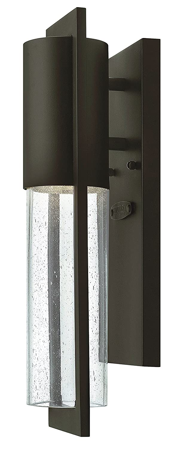 Hinkley 1326KZ Transitional One Light Wall Mount from Shelter collection in Bronze/Darkfinish,