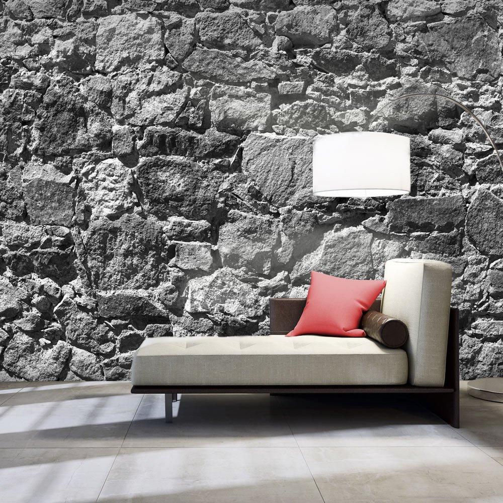 Murando - XXXL Fototapete Tapete 600x280 cm - Größe Format 6m - Vlies Tapete Fototapete - Moderne Wanddeko - Design Tapete - teine Stein Steinoptik 3D Mauer f-A-0493-x-h d825d4