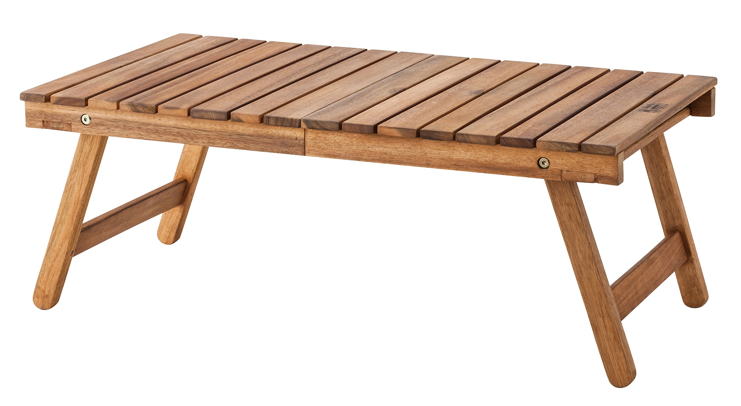 Azumaya Natural Wooden Folding Table NX-514