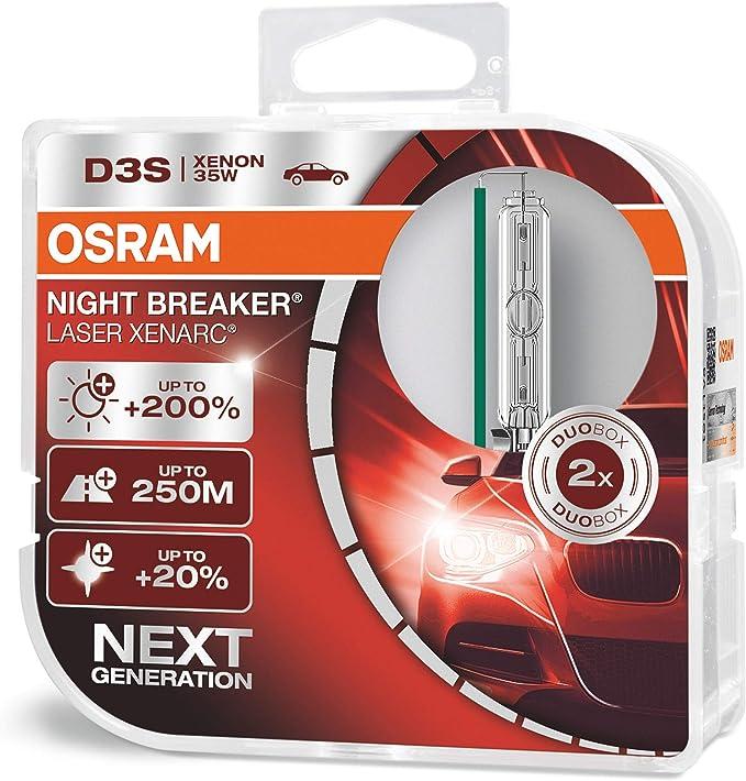 Osram Xenarc Night Breaker Laser D3S. Ein Verschleiss-Artikel beim VW Sharan 7N und SEAT Alhambra 71.