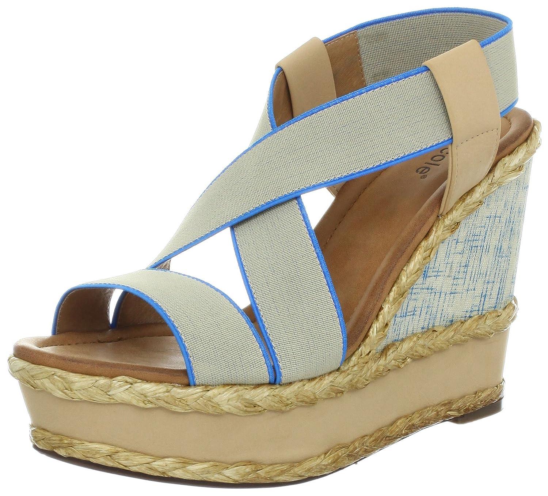 nicole Women's Bravado Wedge Sandal B009FX8GIQ 10 B(M) US Paris Blue