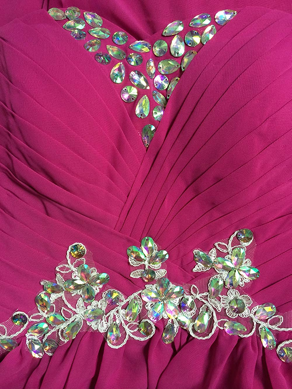 Ovender/® Damen Kleid Festliche Kleider Brautjungfer Verleihung Fr/äulein Hochzeit Cocktailkleid Faltenrock Elegant Langes Abendkleid Ball Party