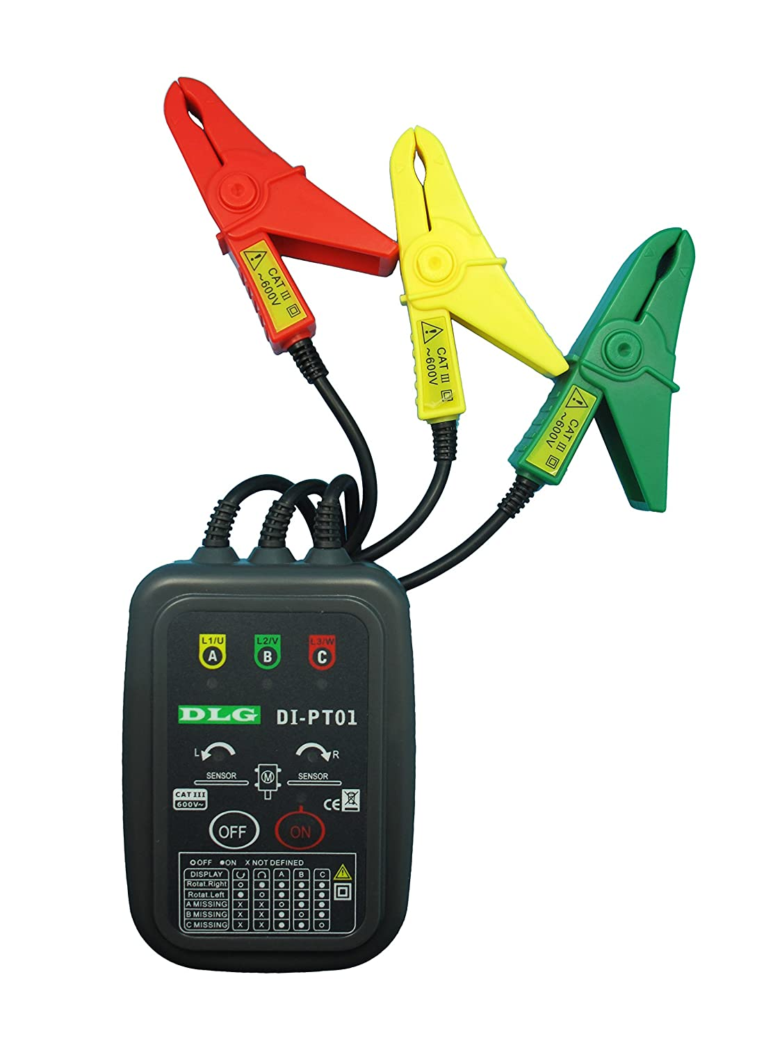 DLG DI-PT01 Non-contact Phase Rotation Tester