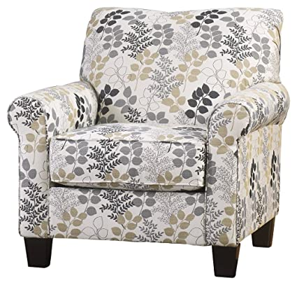 Gentil Ashley Furniture Signature Design   Makonnen Accent Chair   Contemporary    Winter
