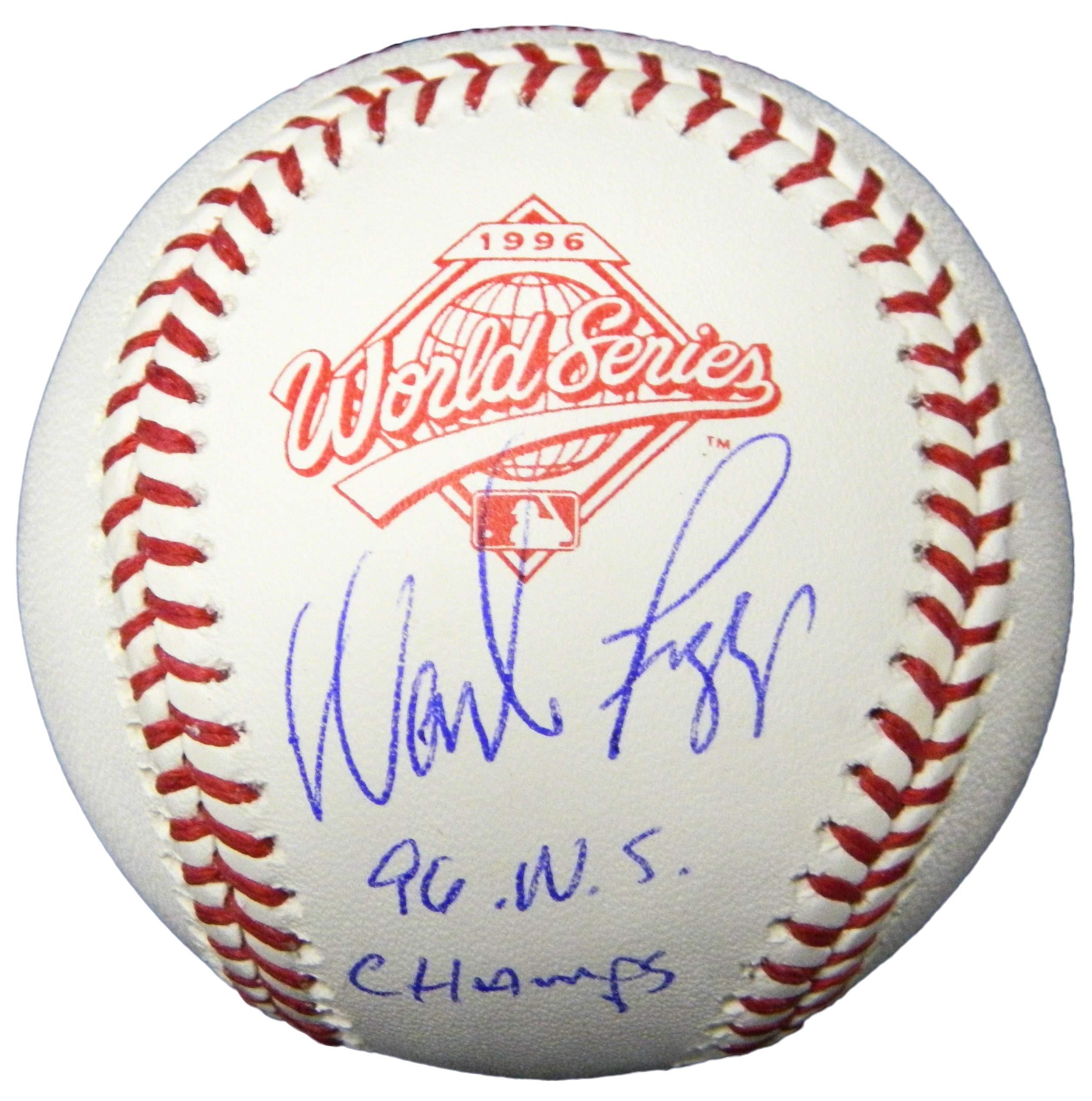 Wade Boggs Signed Rawlings 1996 World Series (New York Yankees) Baseball w/96 WS Champs