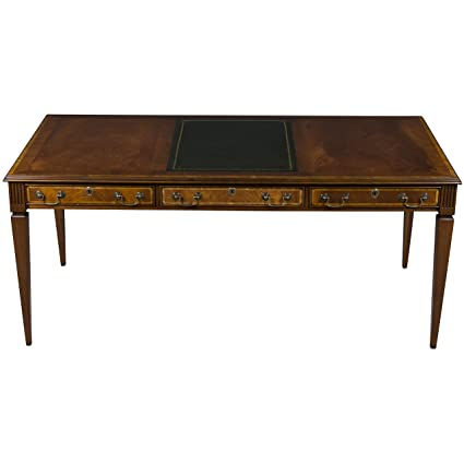 Antique Style Mahogany Writing Desk - Amazon.com: Antique Style Mahogany Writing Desk: Kitchen & Dining