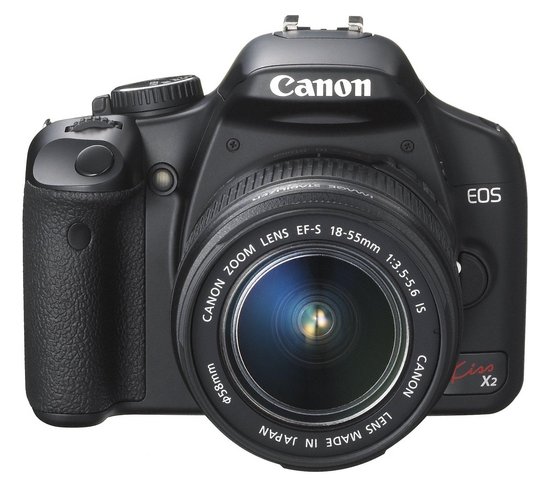 Canon デジタル一眼レフカメラ EOS Kiss X2 レンズキット KISSX2-LKIT product image
