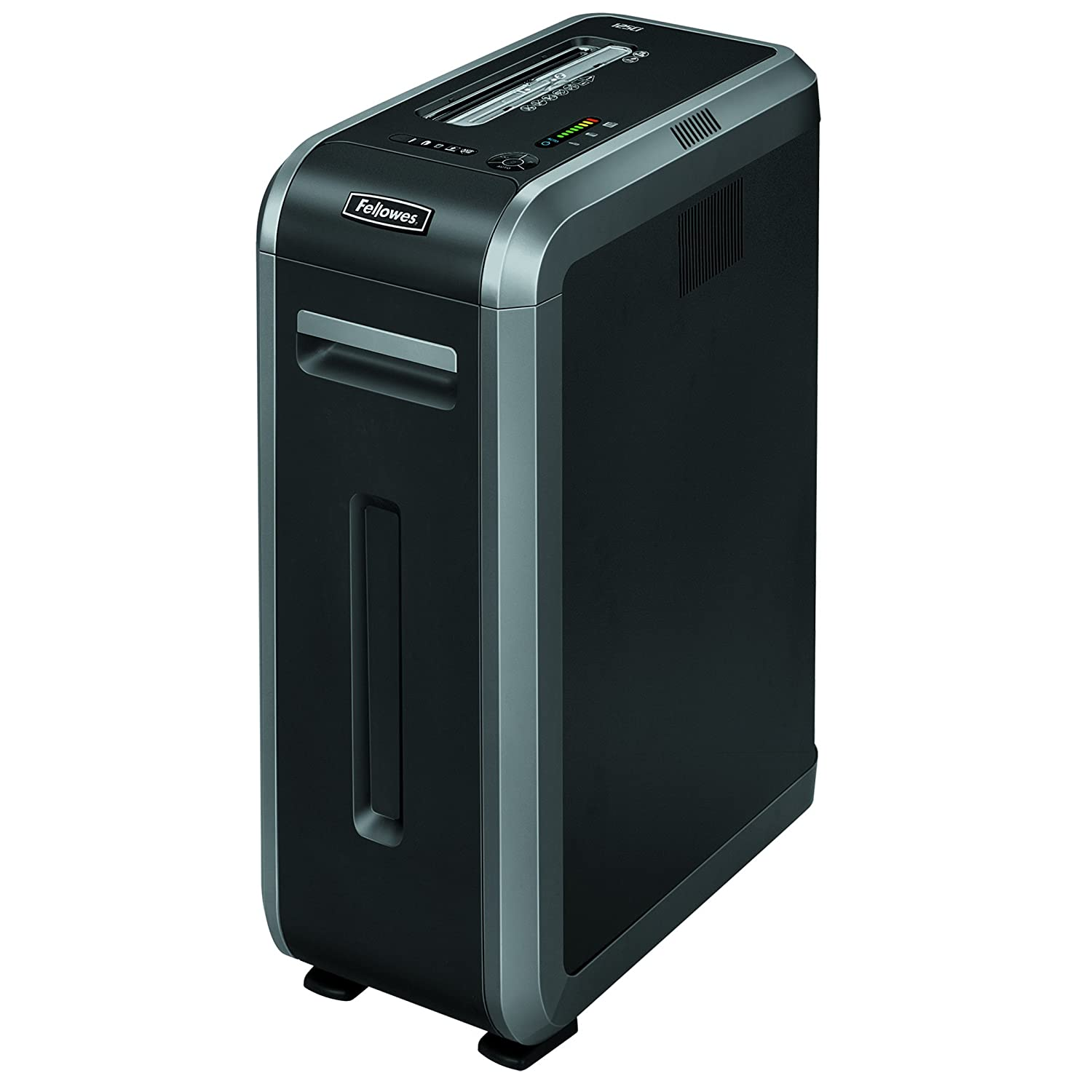 Fellowes Powershred 125Ci 100% Jam Proof 20 -Sheet Cross-Cut Commercial Grade Paper Shredder