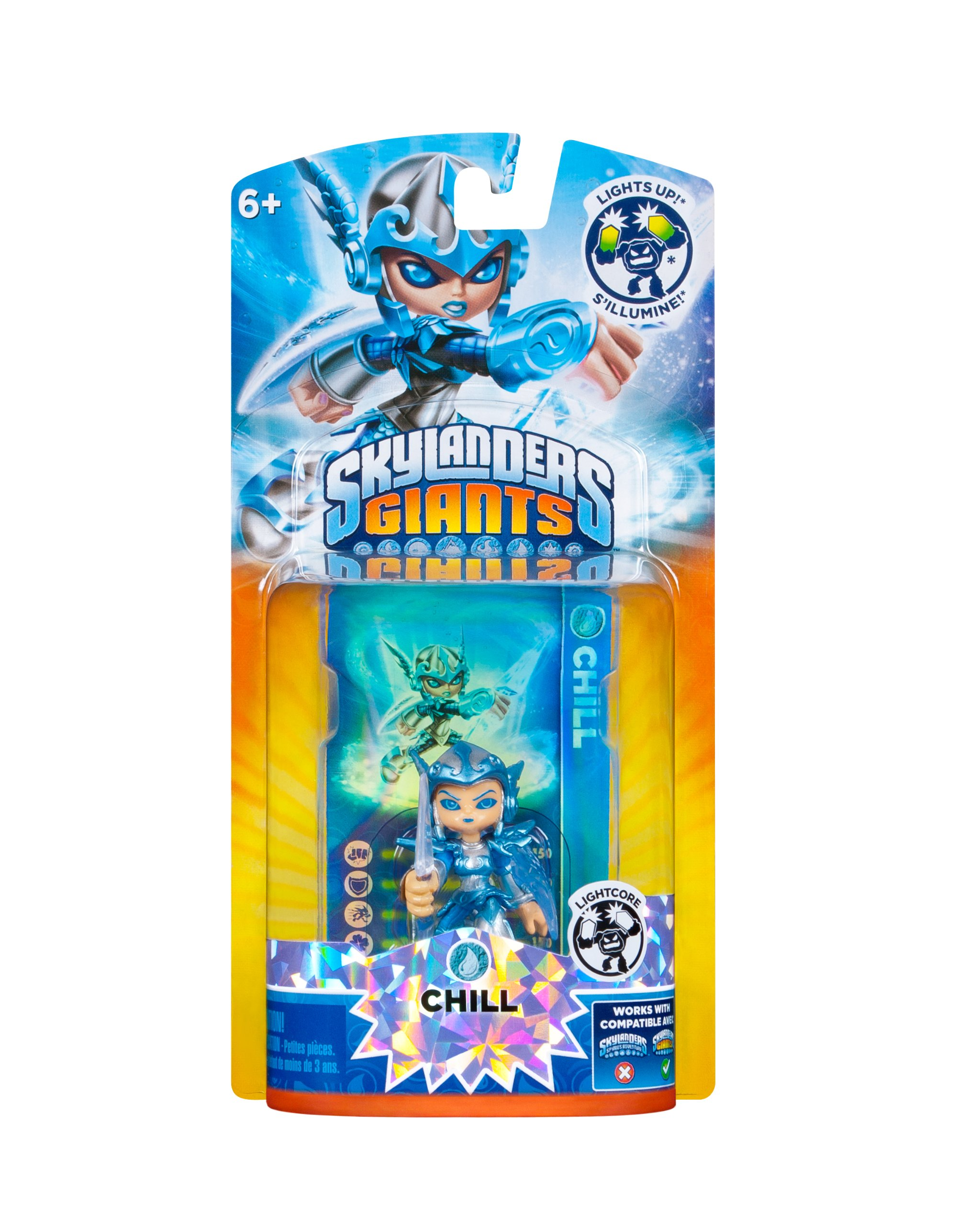 Skylanders Giants: Lightcore Chill Character