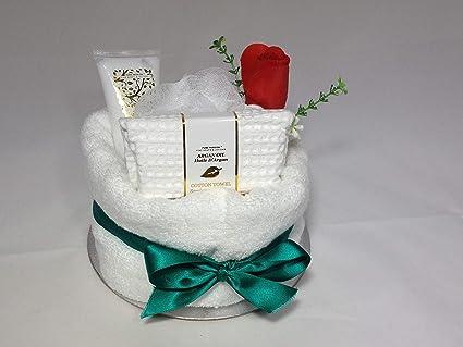 Chica bestdeal/damas Ultimate Natural SPA mimaros toalla de la torta - DE REGALO único
