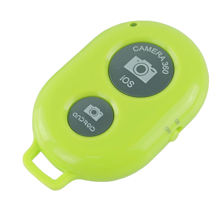 Control Remoto Inalambrico para Telefonos Inteligentes Adecuado para Camara de Disparo del Obturador para Autofotos Control Remoto Bluetooth para CamKix Compatible con Apple IOS y Android // iPhone // iPad // Samsung Galaxy // y Otros Celulares y Tableta