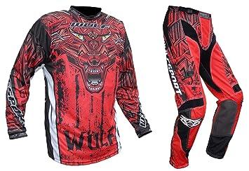 WulfSport Firestorm - Traje de moto para adulto MotoCross ...