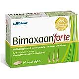 Bimaxaan forte bei Haarausfall für Männer und Frauen | Haar-Aktiv Kapseln | Folsäure und Vitamin B12 · Biotin und Zink | Vegan | 60 Stück