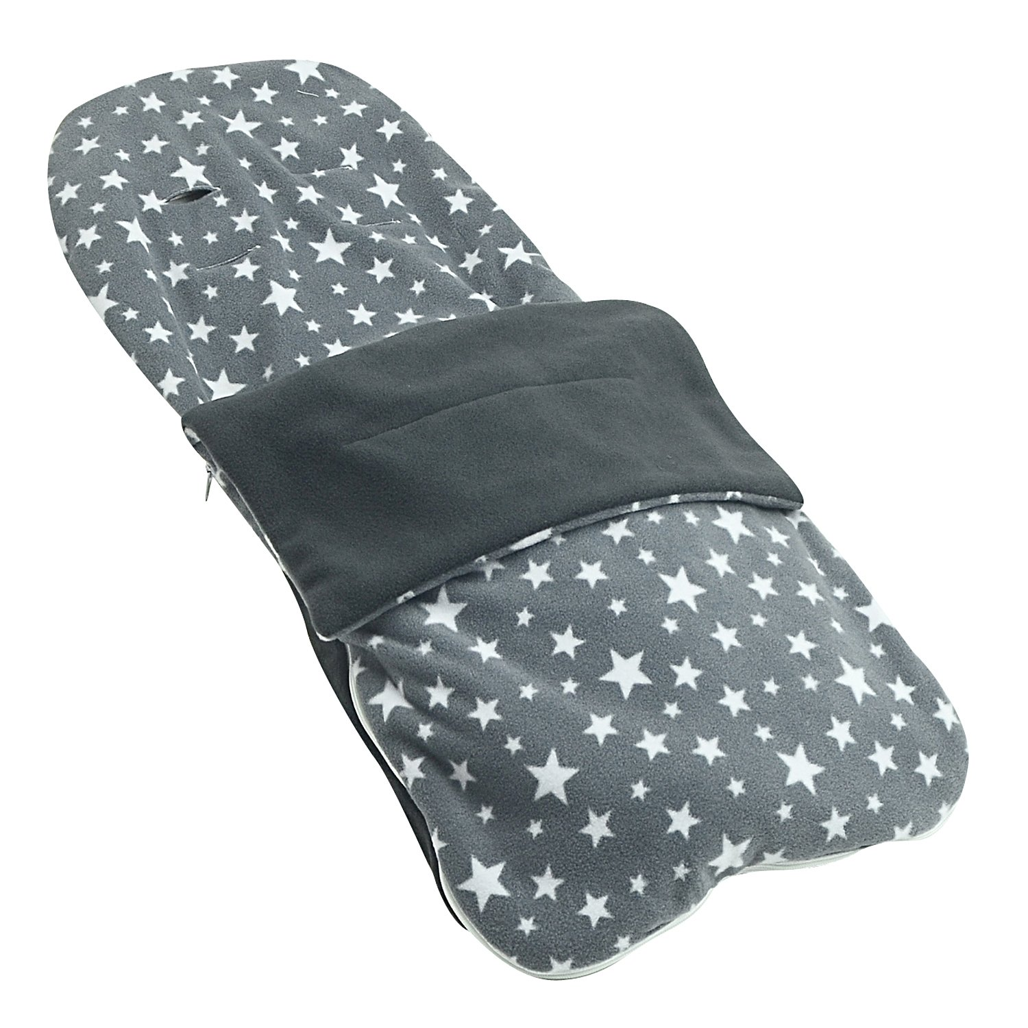 Grey Star Snuggle Summer Footmuff Compatible With Out N About Stroller Buggy Pram