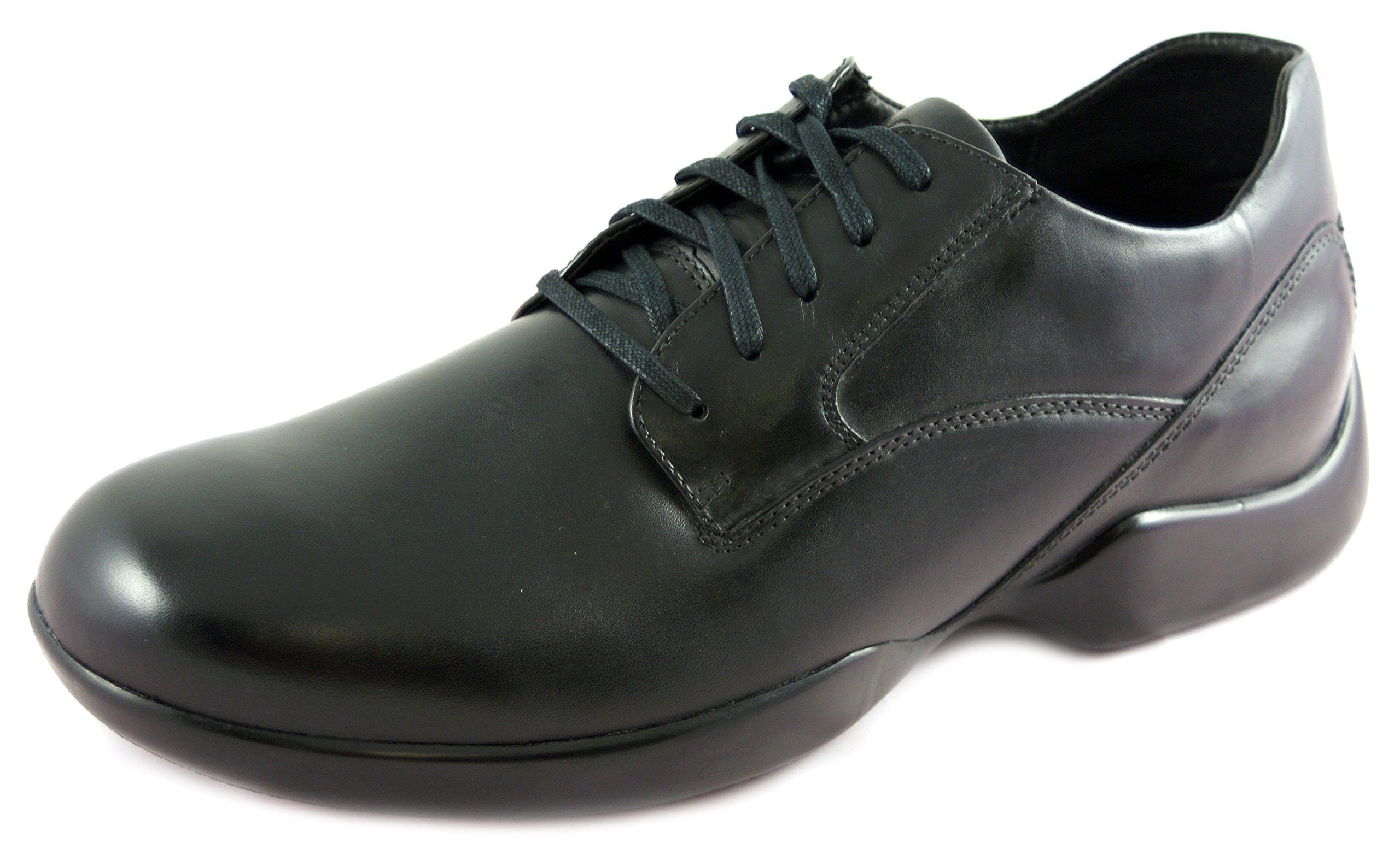 DiaResc Men's Lace-Up Plain Toe Diabetic Shoes Orthotic Comfort Shoes Pain Releif (11W)
