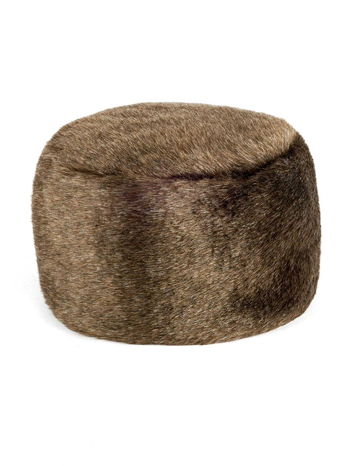 Futrzane Women's Fur Hat Russian Cossack Made of Faux Rabbit Fur
