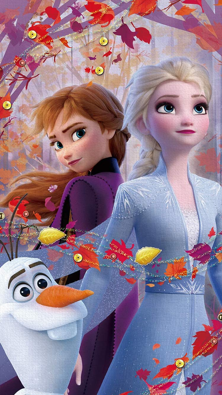 ディズニー Iphone8 7 6s 6 750 1334 壁紙 アナと雪の女王2 オラフ