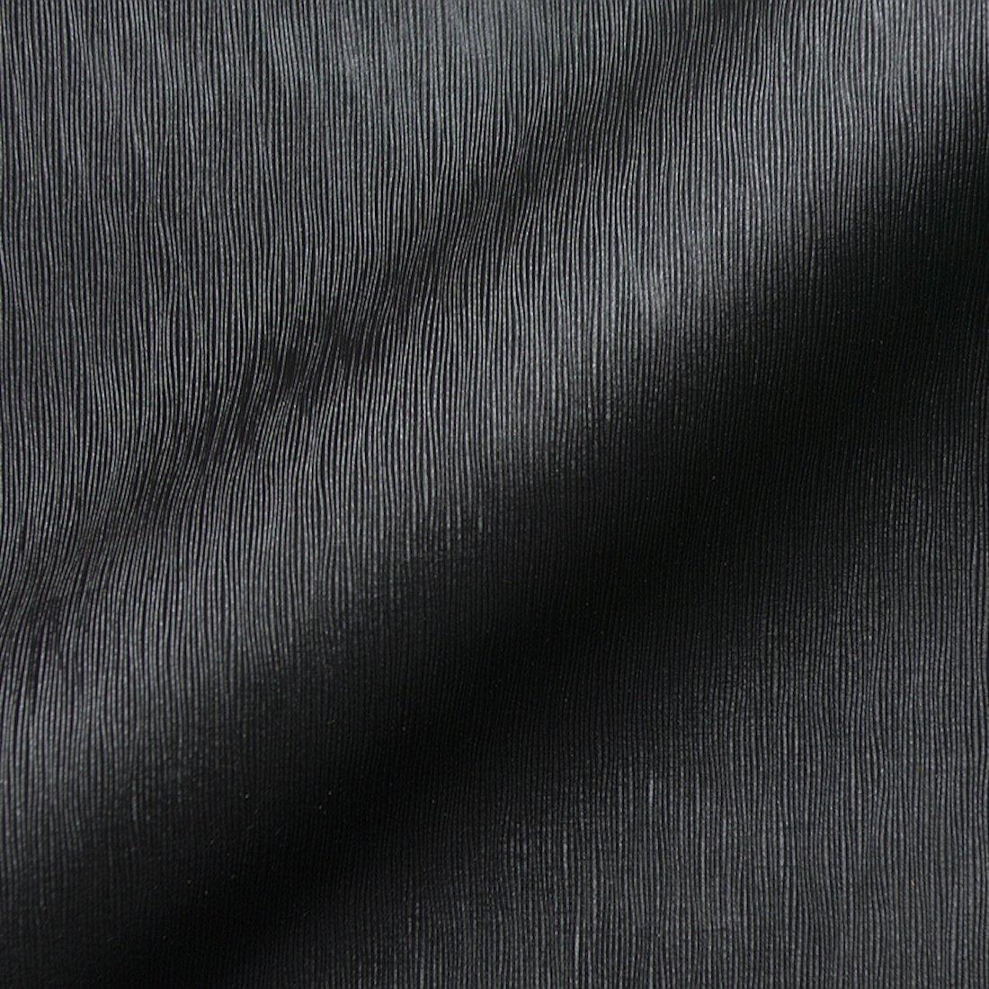 Stoff Polsterstoff Möbelstoff Bezugsstoff Meterware für Stühle, Eckbänke, etc. - Jamaika Schwarz Uni - MUSTER Eckbänke MiBiento Living
