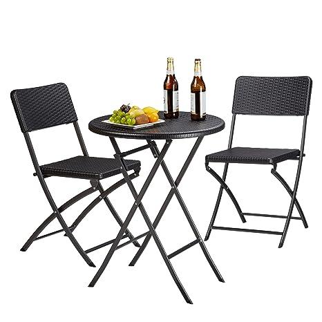 Tavoli E Sedie Da Campeggio Pieghevoli.Relaxdays 10020758 46 Set Tavolo E Sedie Da Campeggio Bastian