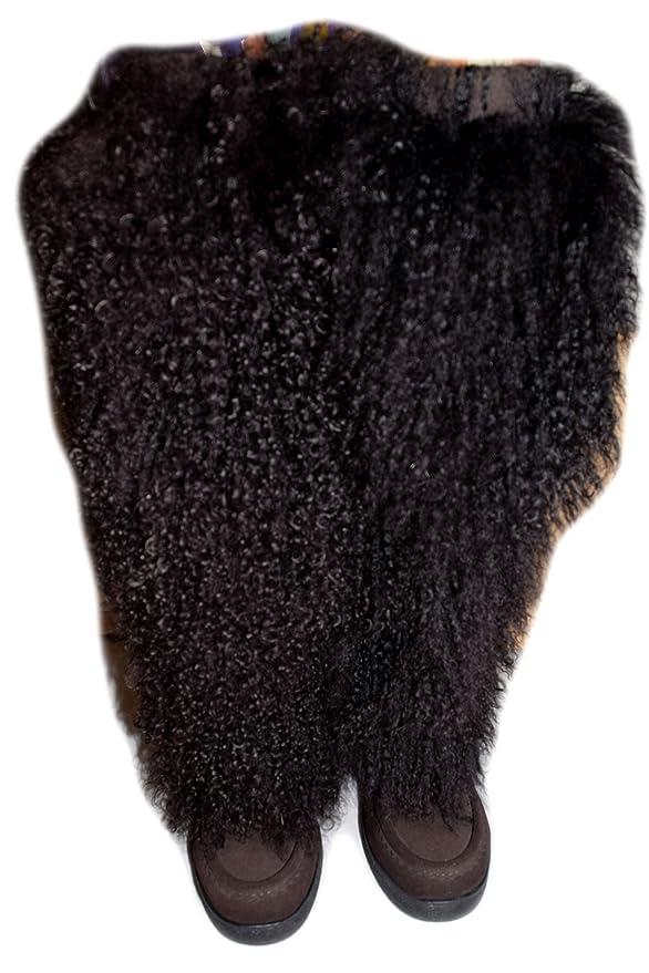 47bbdf9fece MUKS THE ORIGINAL MUKLUK BOOT Tall Mongolian Wedge Brown Size UK 5 ...