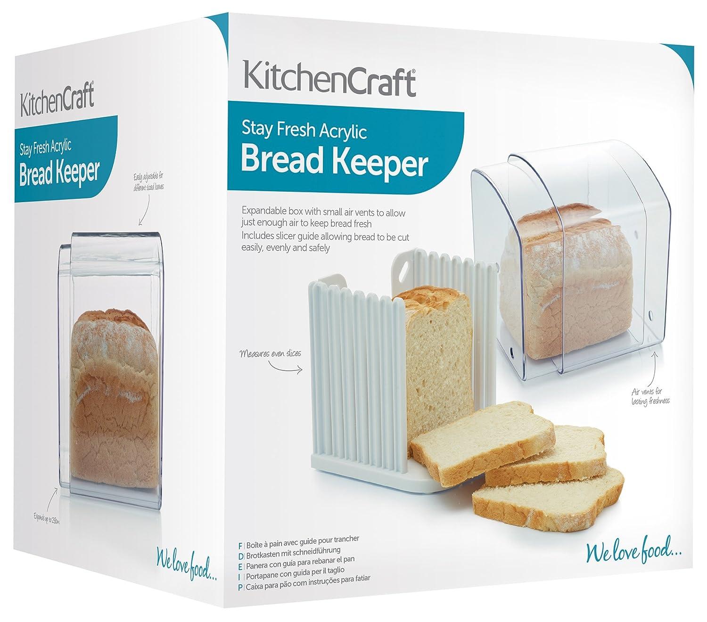 Kitchen Craft - Panera Transparente: Amazon.es: Hogar