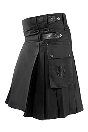Stylish Cargo pocket kilt for mens and women sale price qPfihswM71