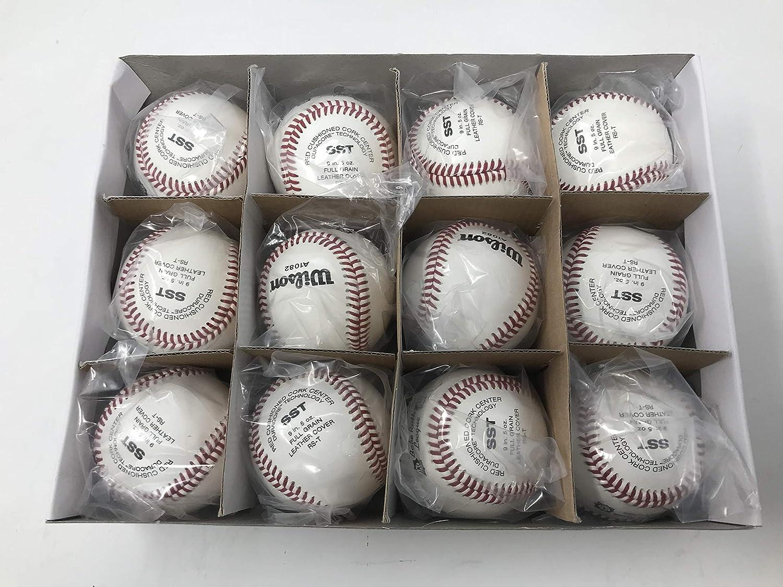 Wilson New A1082 SST ベーブルース野球 9インチ ベーブルースリーグ 野球 1DZ (12) B07KRHY88X, イーグル舶来堂 fd2046ca