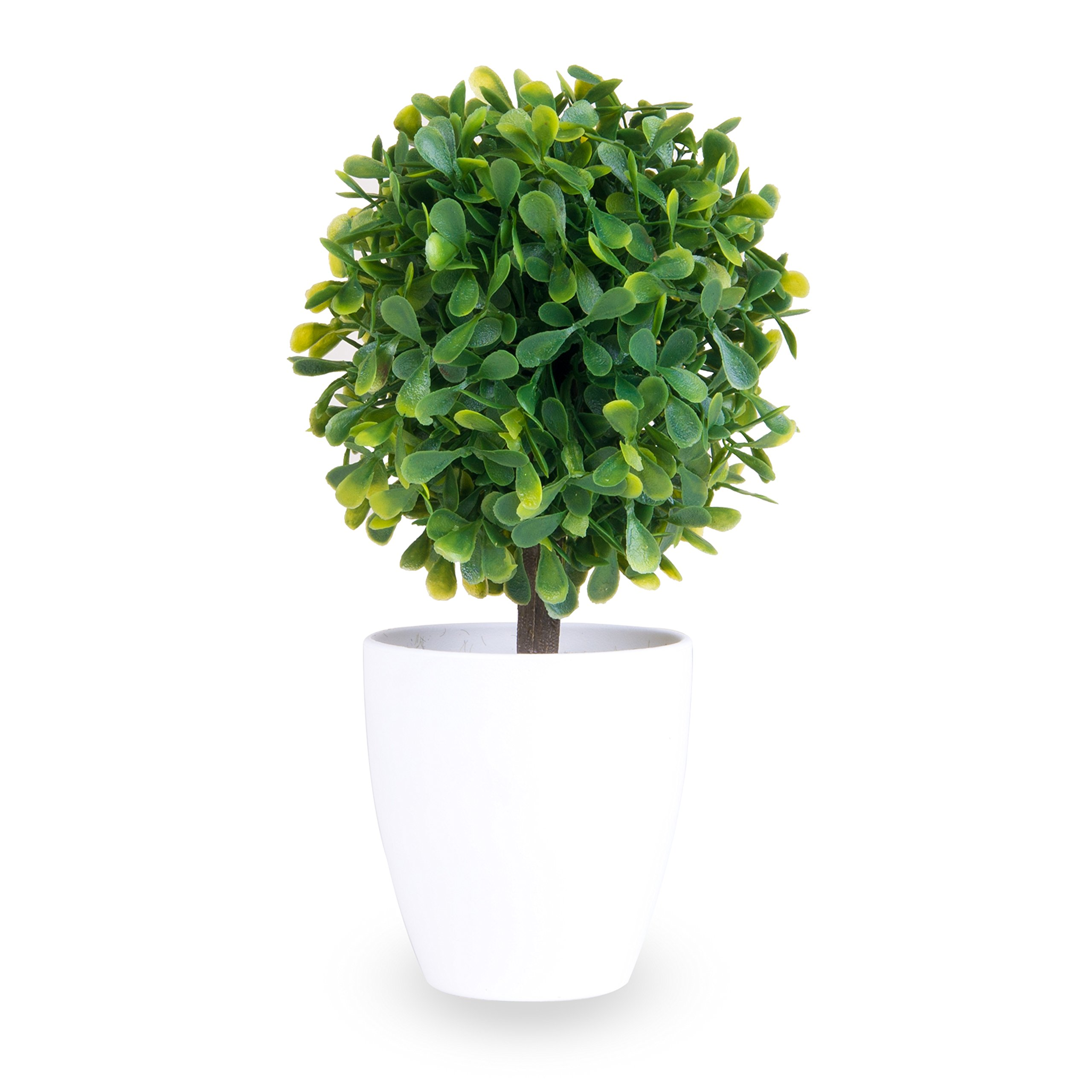 Fake Plant: artificial plant, for office, home, garage, patio, garden, work - Great for indoor and outdoor, made with plastic, green leaves, pottery, shrub, vine,