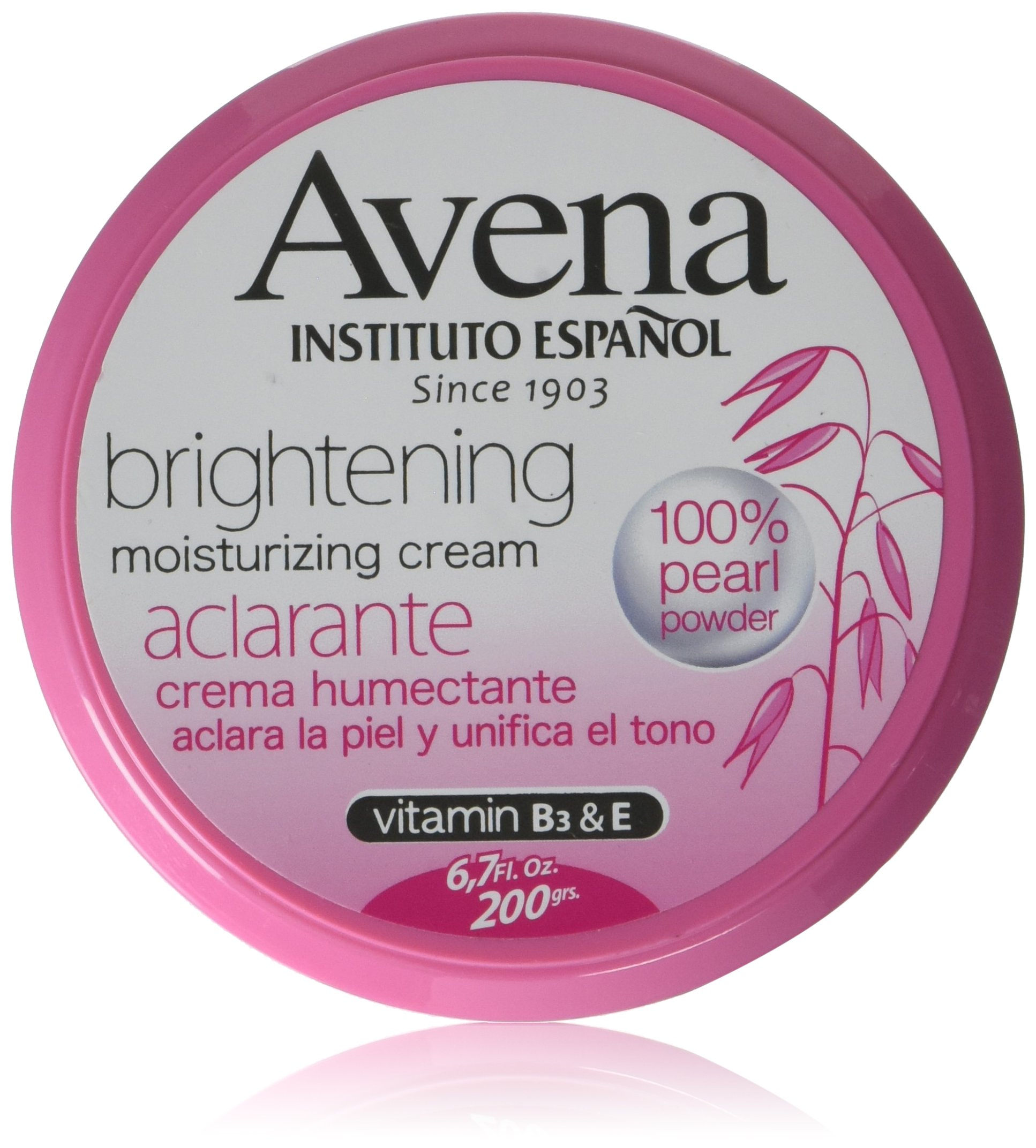 Avena Instituto Español Brightening moisturizing cream 6.7 oz.