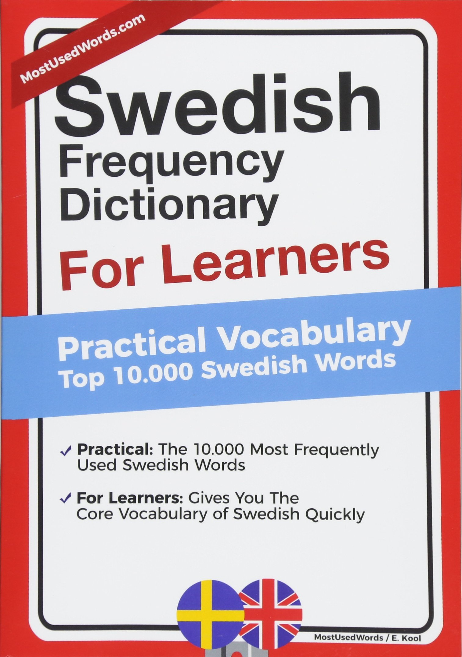 Swedish Frequency Dictionary For Learners  Practical Vocabulary   Top 10000 Swedish Words