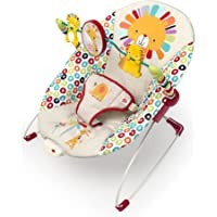 Bright Starts Playful Pinwheels Bouncer, Beige, One Size, 2690 Grams