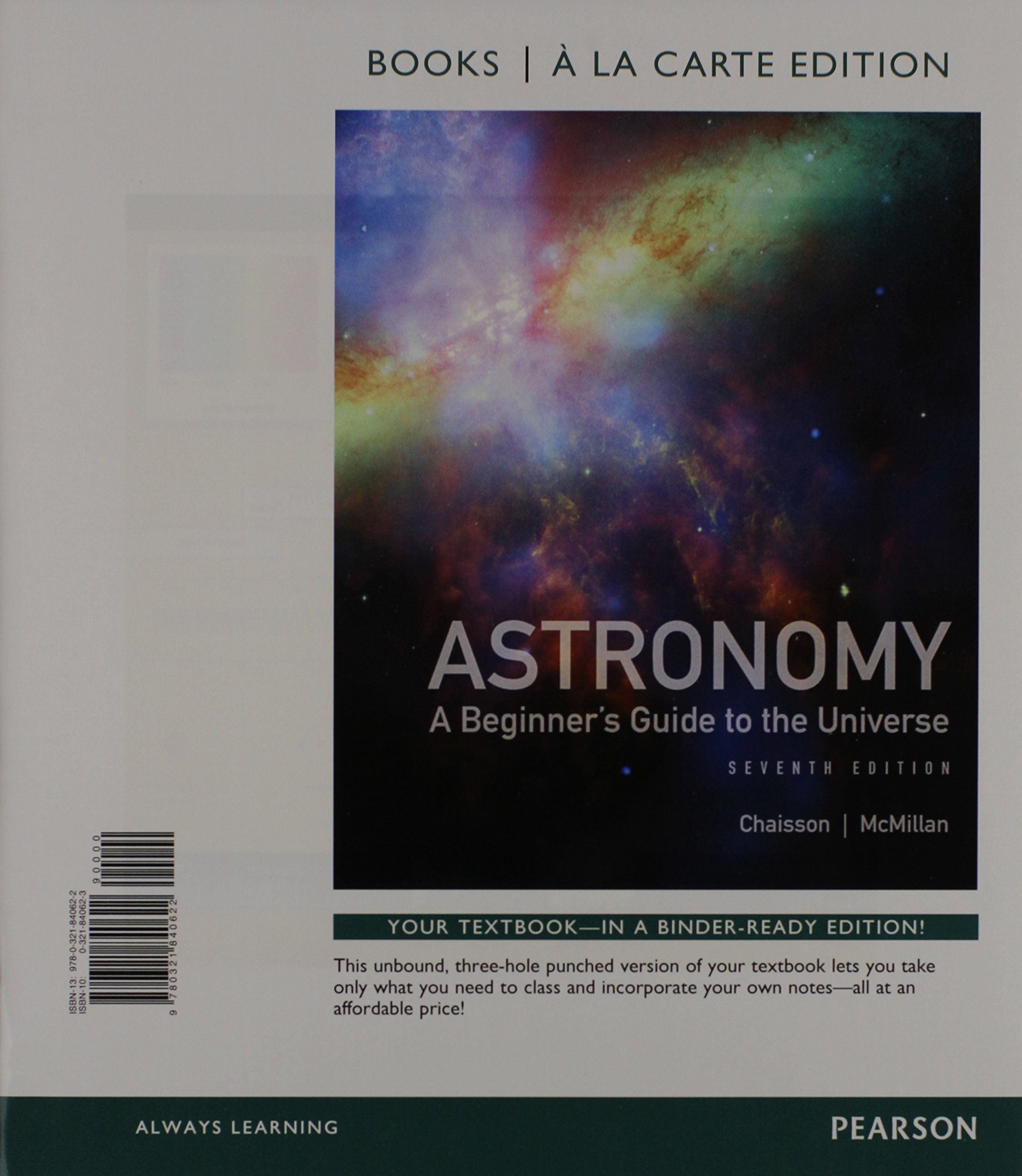 Astronomy: A Beginner's Guide to the Universe, Books a la Carte Plus  Mastering Astronomy with eText -- Access Card Package (7th Edition): Eric  Chaisson, ...