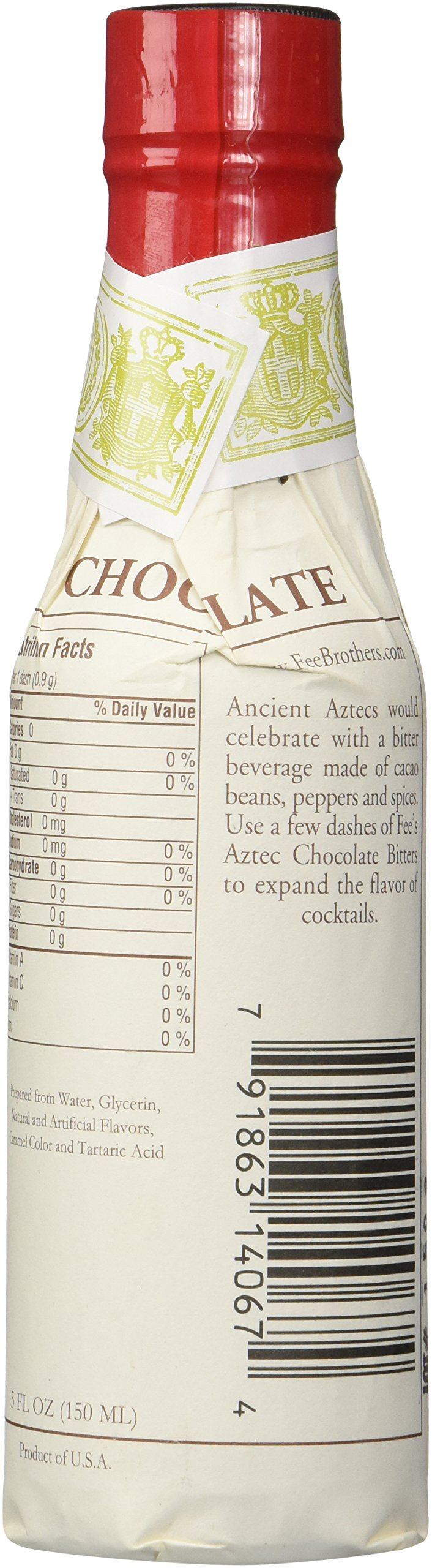 Fee Brothers Aztec Chocolate Cocktail Bitters 5oz by Fee Brothers (Image #2)