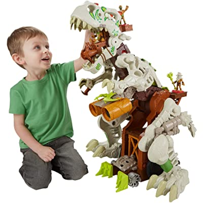 Fisher-Price Imaginext Ultra T-rex: Toys & Games
