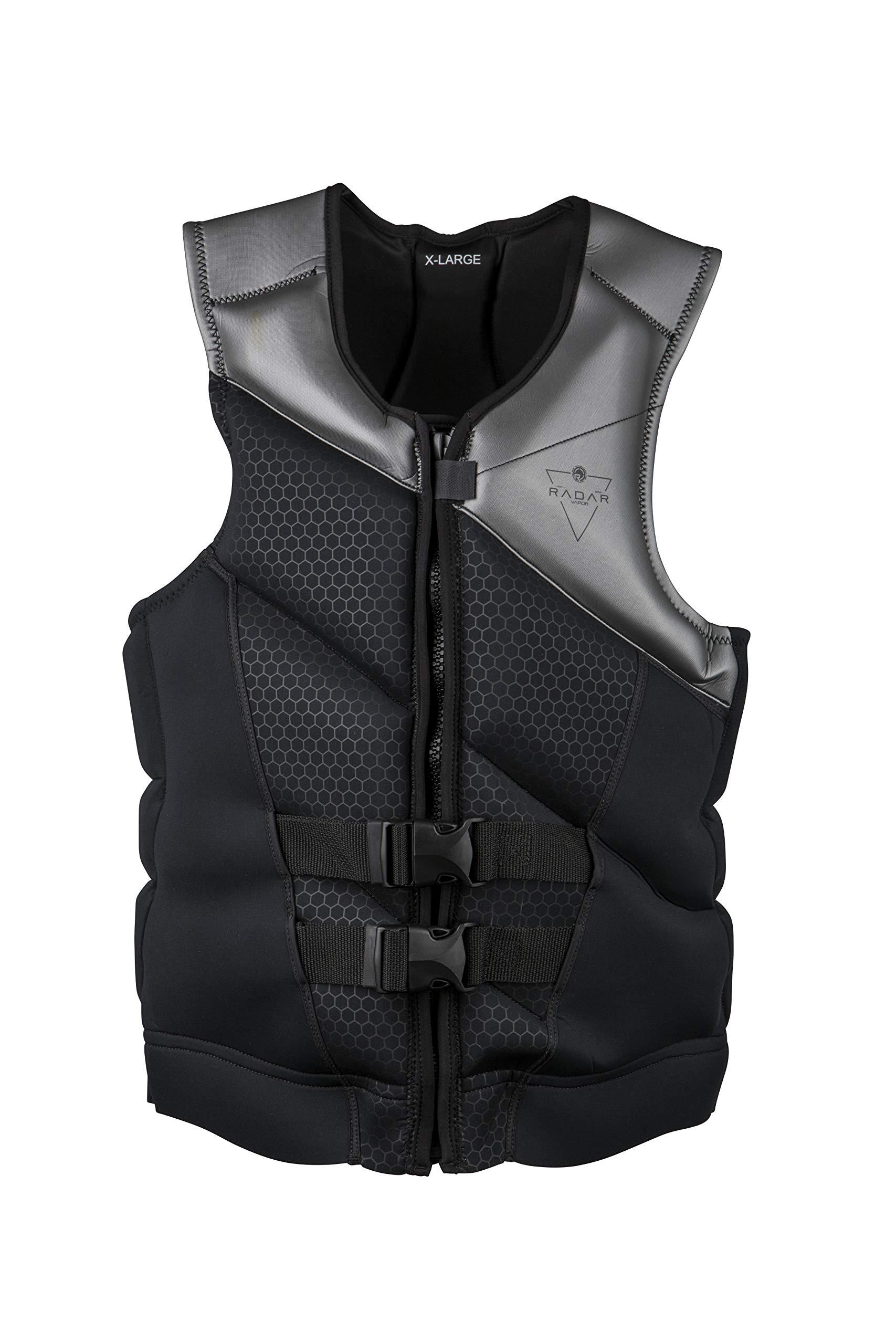 Radar X 2.0 - CGA Life Vest - Black / Gunmetal (2019), Large  by Radar