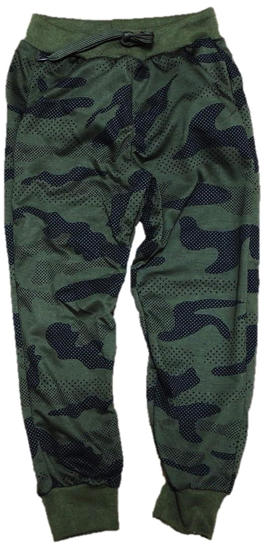 VanessasShop Jungen Camouflage Jogginghose in den Gr/ö/ßen 104-164