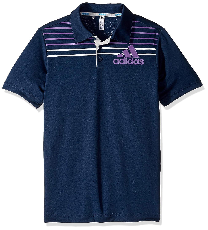 Bleu marine adidas garçon Badge de Sport Polo, Enfant, TB1214S9 XS