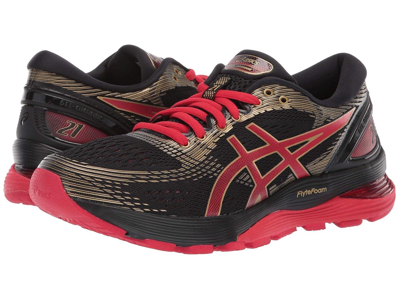 [アシックス] レディースランニングシューズスニーカー靴 GEL-Nimbus 21 [並行輸入品] B07PZ4RGMQ Black/Classic Red 23.0 cm B 23.0 cm B Black/Classic Red
