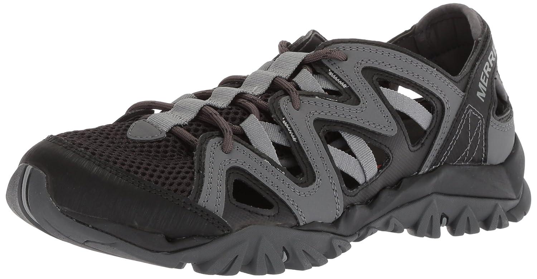 Merrell Women's Tetrex Crest Wrap Sport Sandal B0716Z8TBL 5 B(M) US|Black