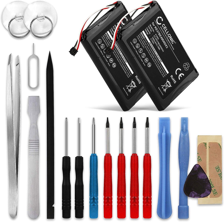 CELLONIC 2X Batería Premium Compatible con Garmin Edge 800 / Edge ...