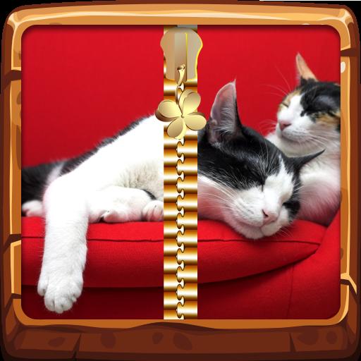 Gatos Pantalla de bloqueo con cremallera: Amazon.es: Appstore para Android