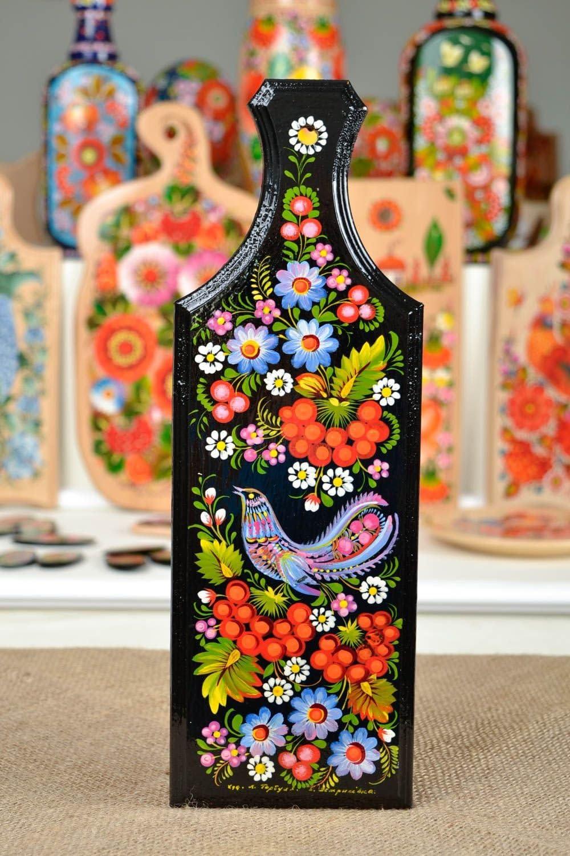 Tabla decorada artesanal de madera decoracion de cocina regalo original: Amazon.es: Hogar
