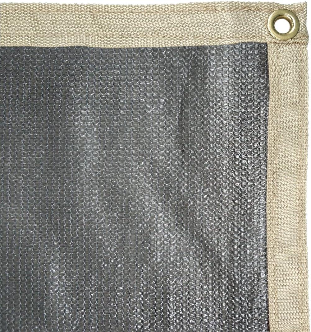 CAMWINGS RV Awning Privacy Screen Shade Panel Kit Sunblock Shade Drop 10 x 20ft Grey