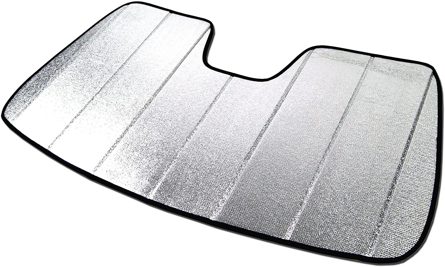 Tuningpros SS-127 Custom Fit Car Windshield Sun Shade Protector Sunshade Visor Silver /& Grey 1-pc Set Compatible With 2006-2011 Honda Civic SI 2 Door