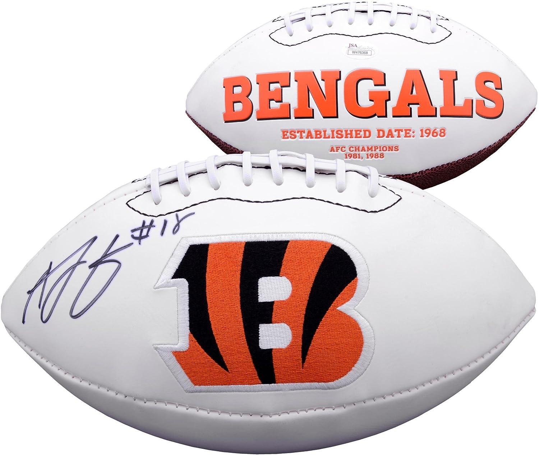 A.J. Green Cincinnati Bengals Autographed Logo Football - Fanatics Authentic Certified - Autographed Footballs