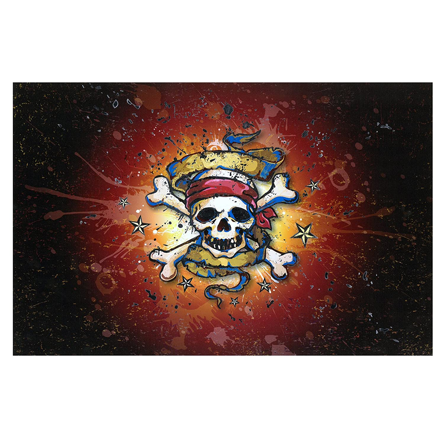 LT102G BROWN Lap Topper/® Laptop PC Skin Craft Cards MP3 Players Mirror Skull Sticker Self Adhesive Decals Lovely Design Colours