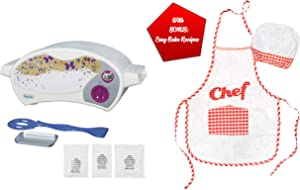 Easy Bake Ultimate Oven with Chef Set Gift Bundles for Boys and Girls, Little Chef Gifts, Aprons Sets for Children, Kids Holiday Presents (Oven + Red White Chef Set)