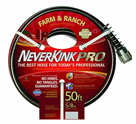 Beau Teknor Apex Neverkink, 8846 50 Farm U0026 Ranch Water Hose, 5/8